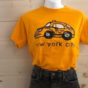 {vintage} new york city cab t-shirt